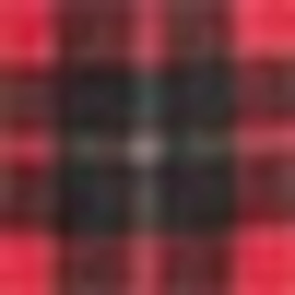 356-1 RED/BLK PLAID