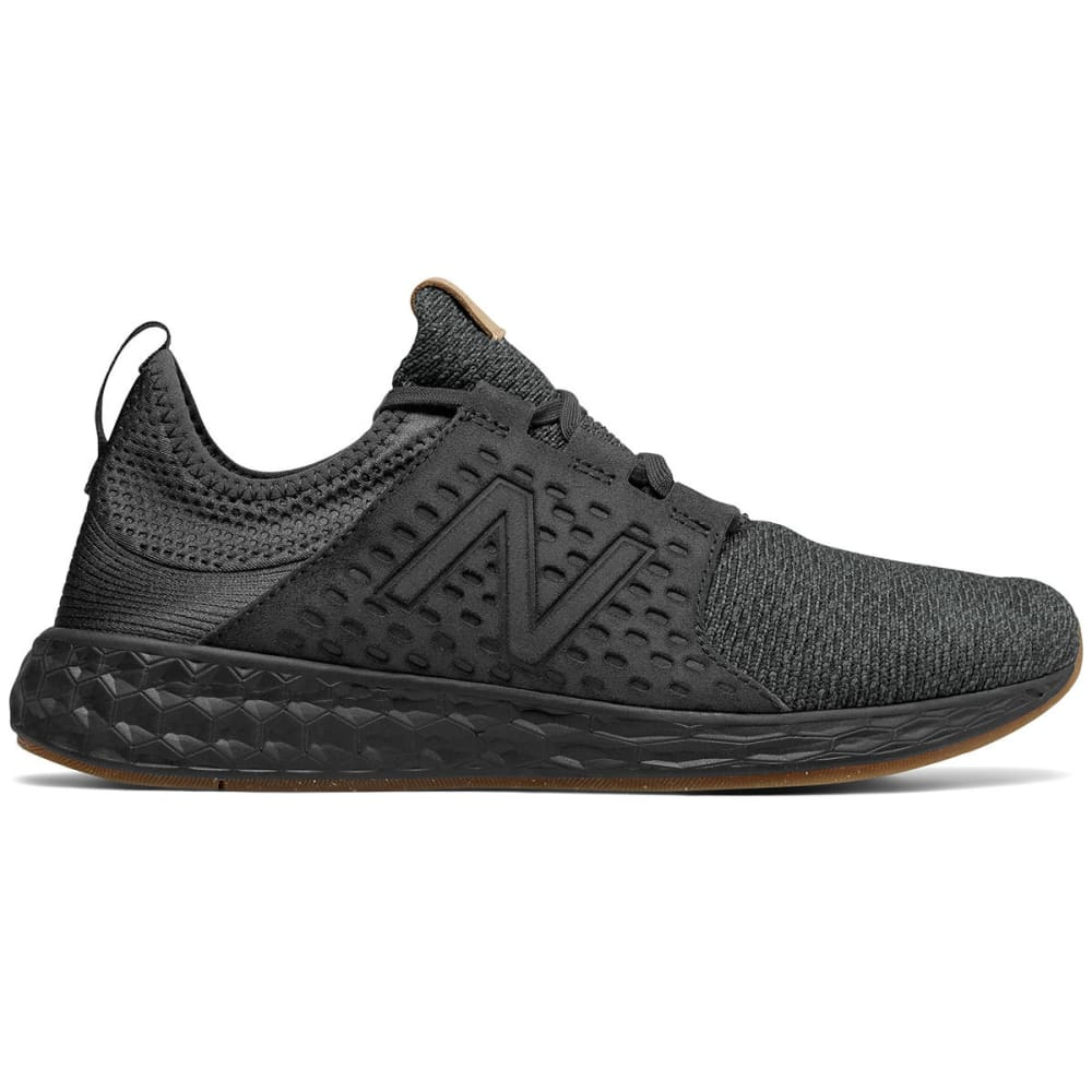 New Balance Men's Fresh Foam Cruz V1 Running Shoes, Phantom - Black, 8.5