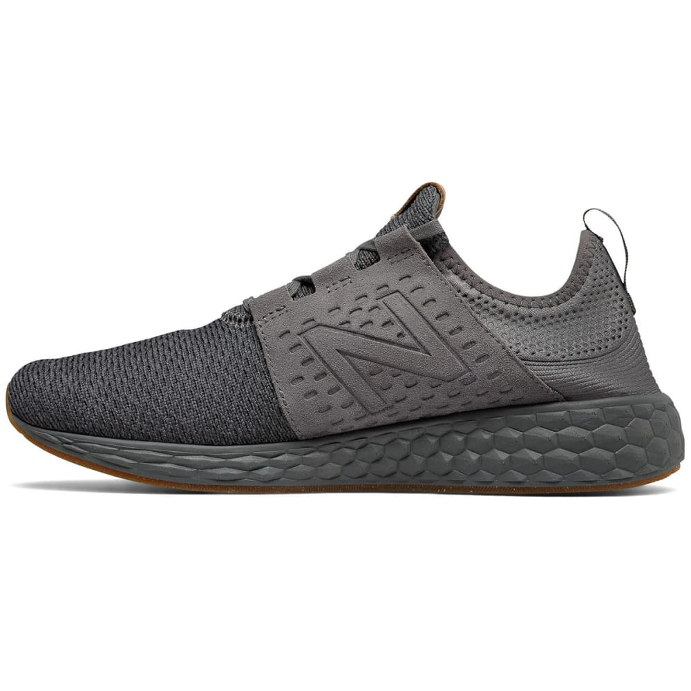 NEW BALANCE Men's Fresh Foam Cruz V1 Running Shoes, Castlerock/Phantom - CASTLE ROCK
