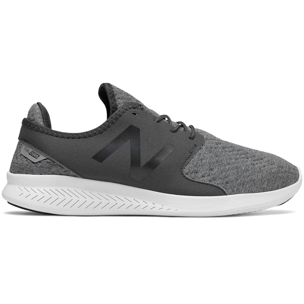 New Balance Men's Fuelcore Coast V3 Running Shoes, Phantom/castlerock - Black, 8.5