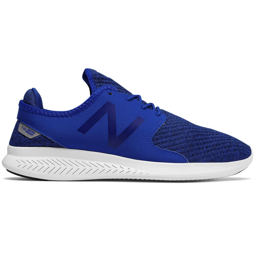 New Balance Men's Fuelcore Coast V3 Running Shoes, Team Royal/black