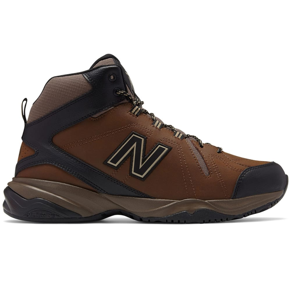 New Balance Men's 608V4 Mid Cross-Training Shoes, Wide - Brown, 9.5
