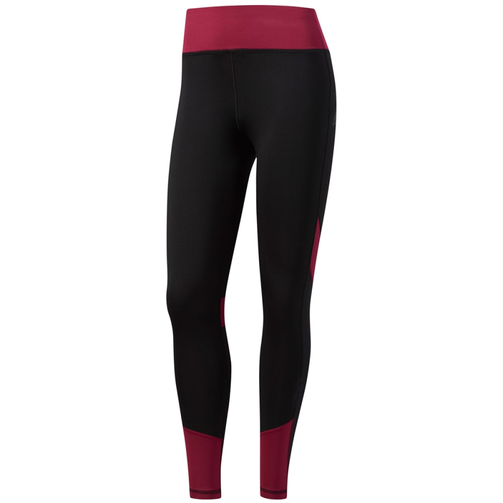 Adidas Women's D2M Mix Long Tights - Black, S