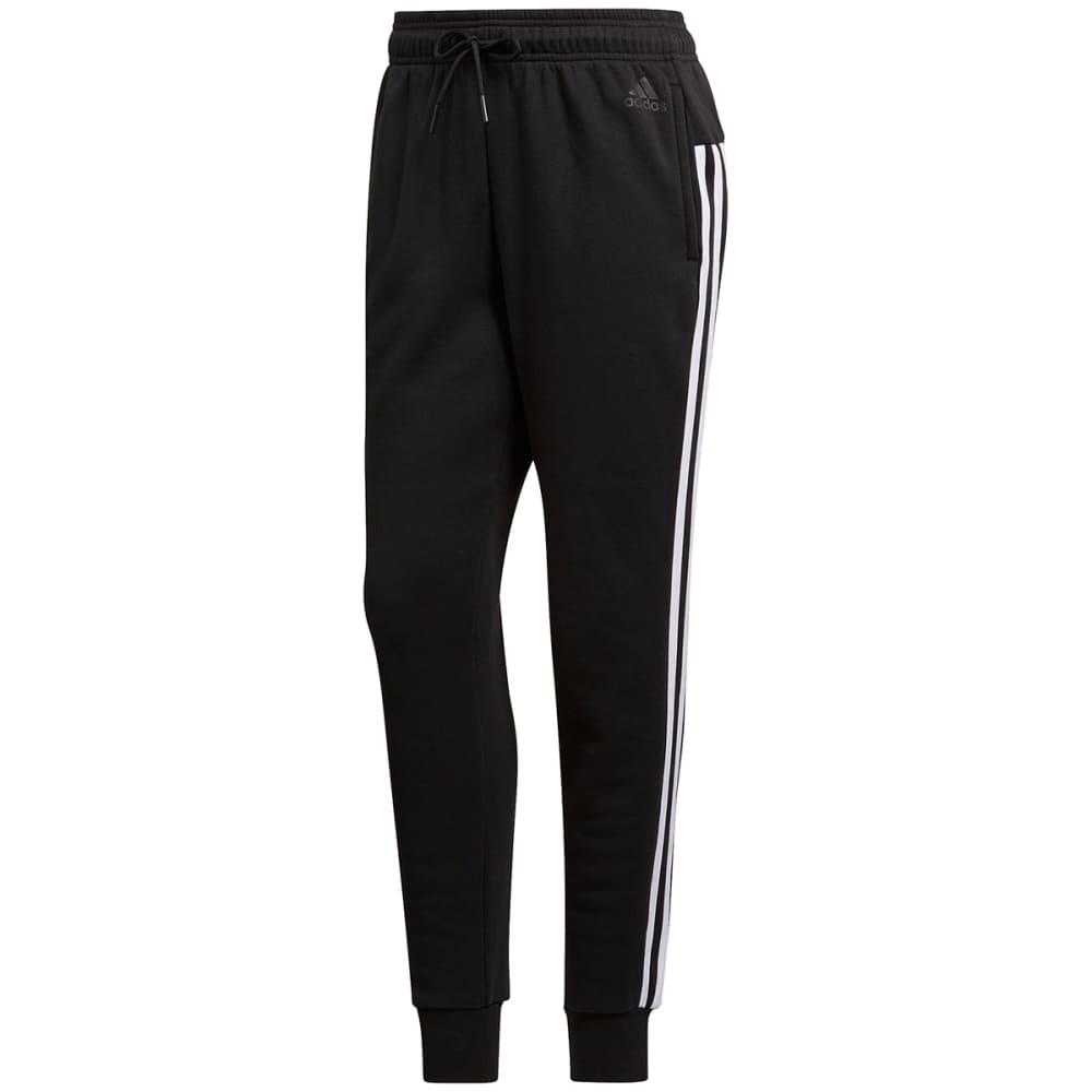 buy popular ec11b 7184e ADIDAS Women39s Essentials Fleece 3 Stripes Jogger Pants - BLKWHT