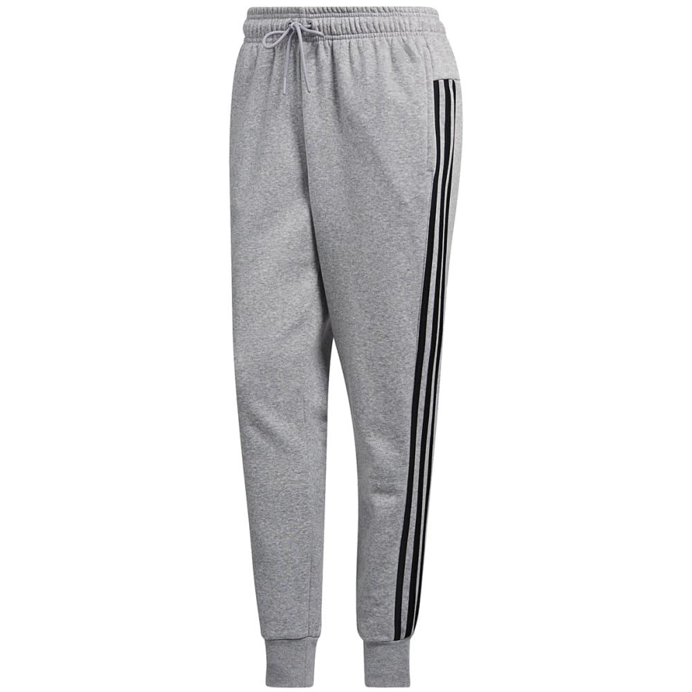 adidas women's fleece 3 stripe jogger