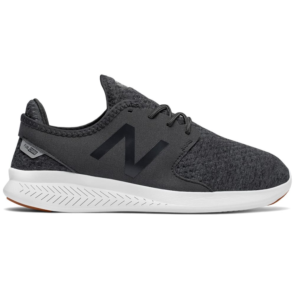 New Balance Women's Fuelcore Coast V3 Tech Hoodie Running Shoes - Black, 8