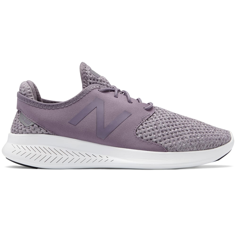 NEW BALANCE Women's FuelCore Coast v3 Running Shoes, Strata/Silver/White - STRATA