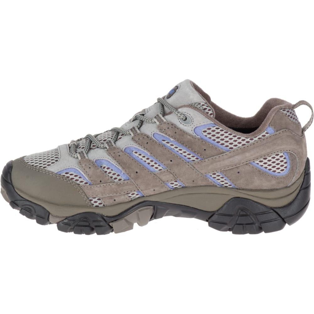 MERRELL Women's Moab 2 Waterproof Hiking Shoes, Falcon - FALCON
