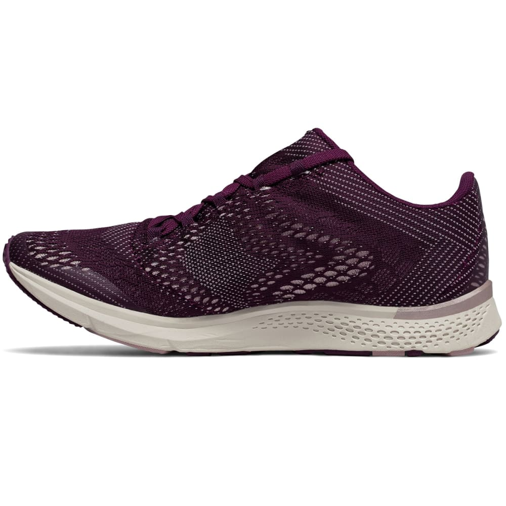 NEW BALANCE Women's FuelCore Agility v2 Winter Shimmer Cross-Training Shoes, Dark Mulberry/Faded Rose - DRK MULBERRY
