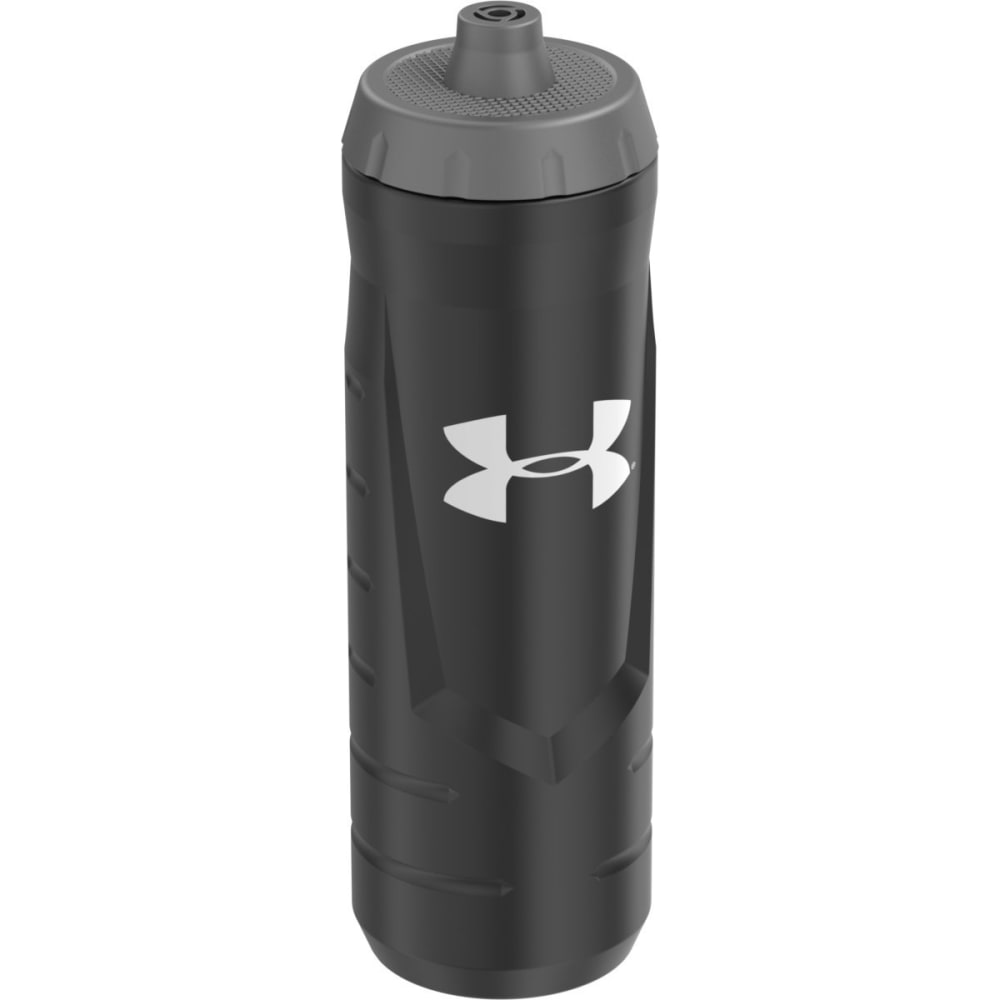 UNDER ARMOUR Undeniable 32 Oz. Squeezable Bottle With Quick Shot Lid - BLACK