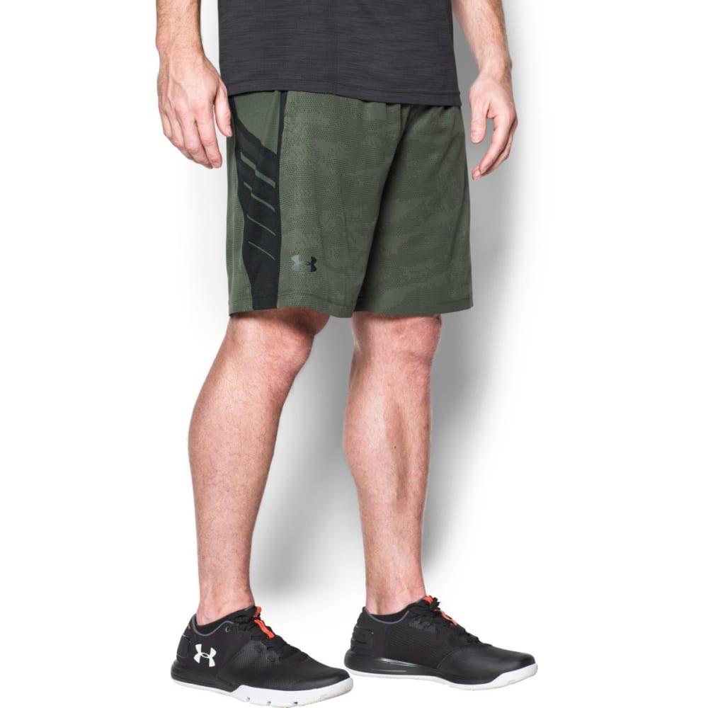 UNDER ARMOUR Men's SuperVent Shorts - DOWNTOWN GRN-330