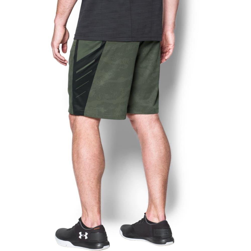 UNDER ARMOUR Men's SuperVent Shorts - DOWNTOWN GRN-330