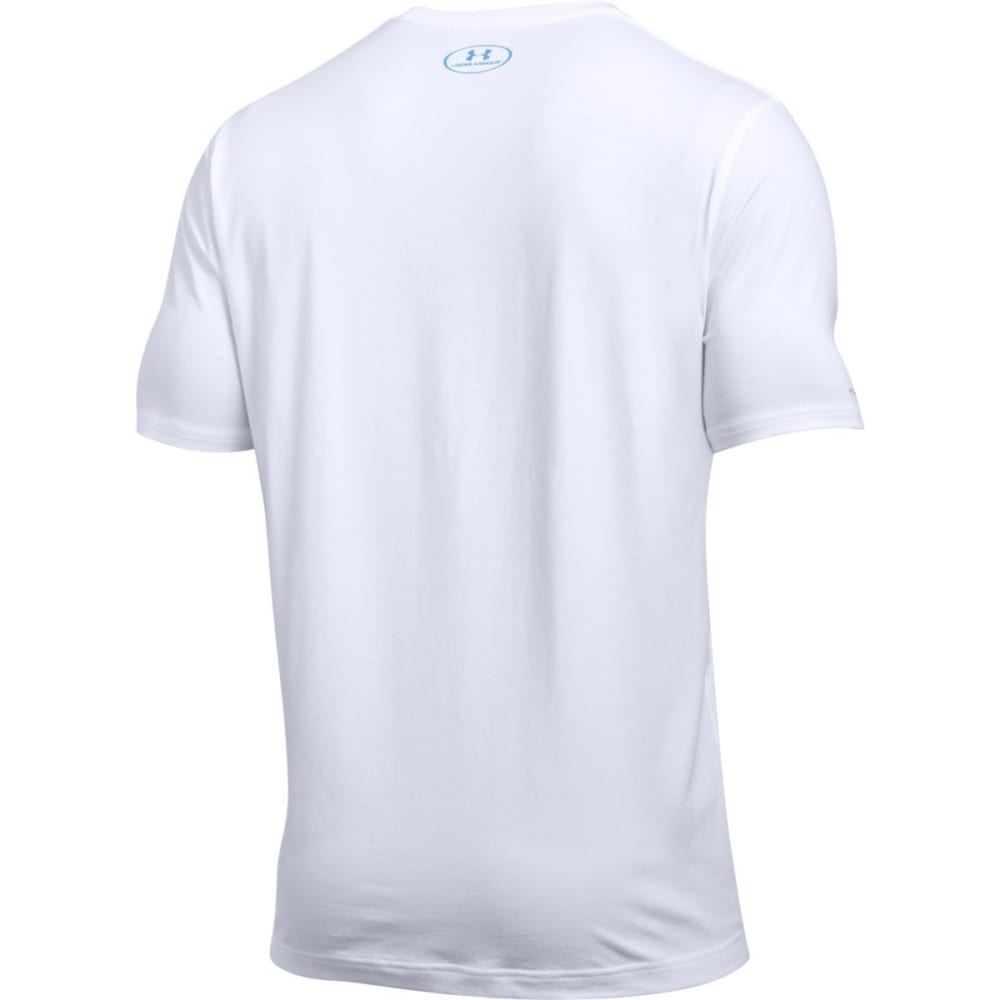 UNDER ARMOUR Men's Fish Hook Short-Sleeve Tee - WHITE-101
