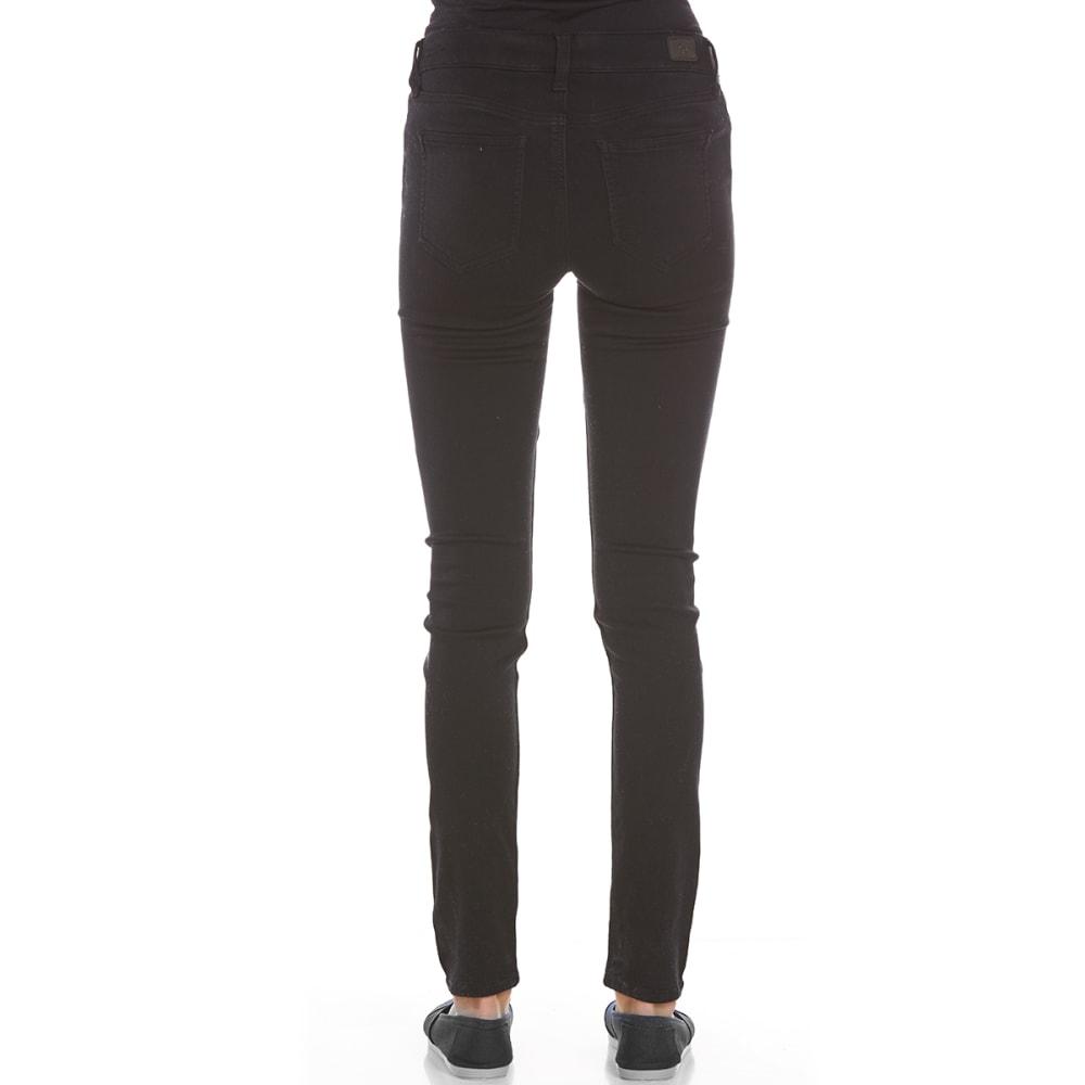 CELEBRITY PINK Juniors' Skinny Super-Soft Denim Jeans - A57-BLACK RINSE