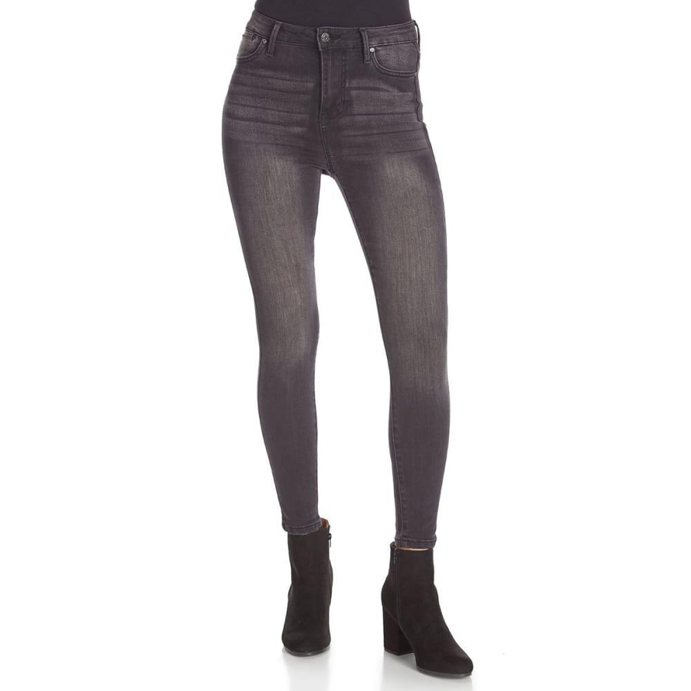 CELEBRITY PINK Juniors' High-Waist Skinny Jeans - BLACKBIRD