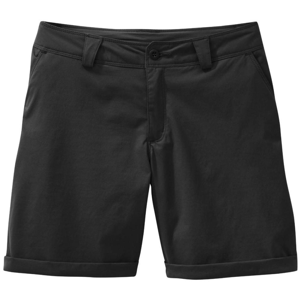 OUTDOOR RESEARCH Women's Equinox Metro Shorts - BLACK