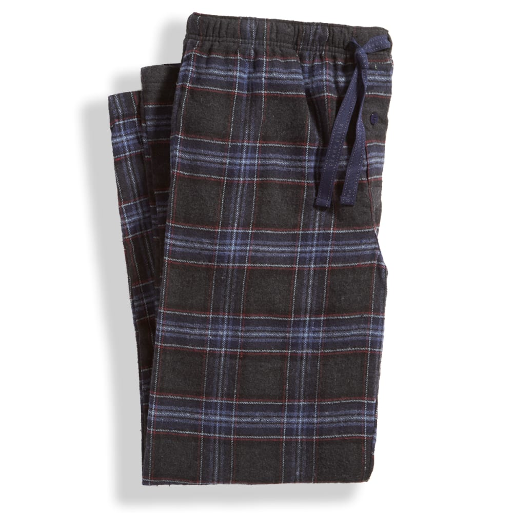 Men's Flannel Sleep Pants - DEEP IRON/INDIGO 941