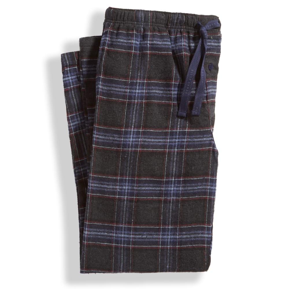 Men's Flannel Sleep Pants - DEEP IRON/INDIGO 941