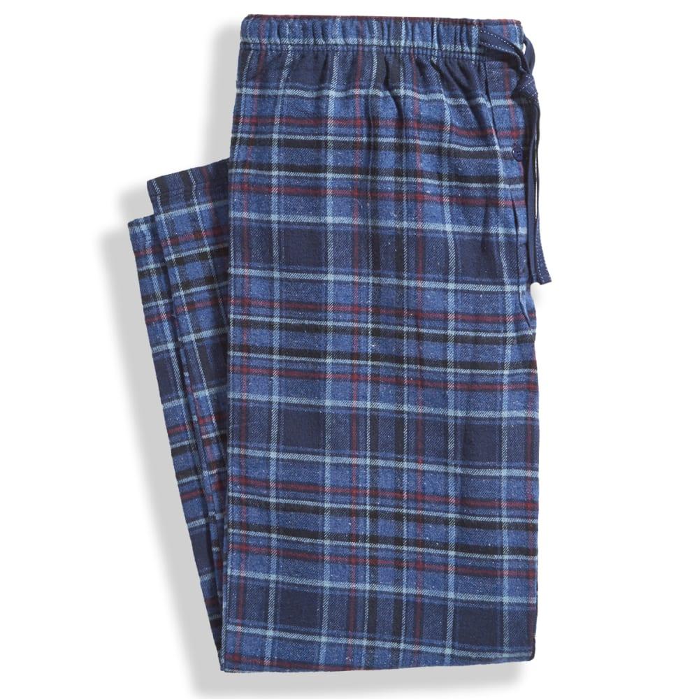 Men's Flannel Sleep Pants - NAVY 941