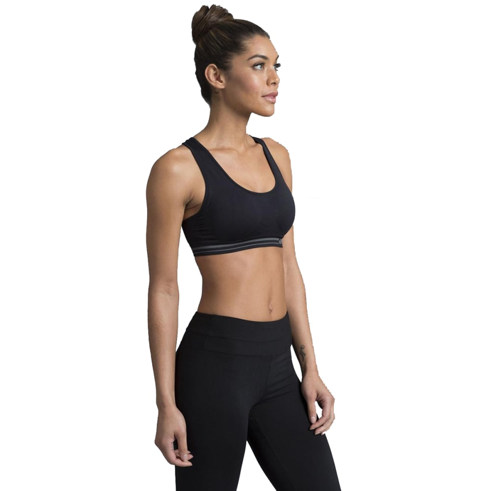 MARIKA Women's Kelly Seamless Sports Bra - BLACK-001