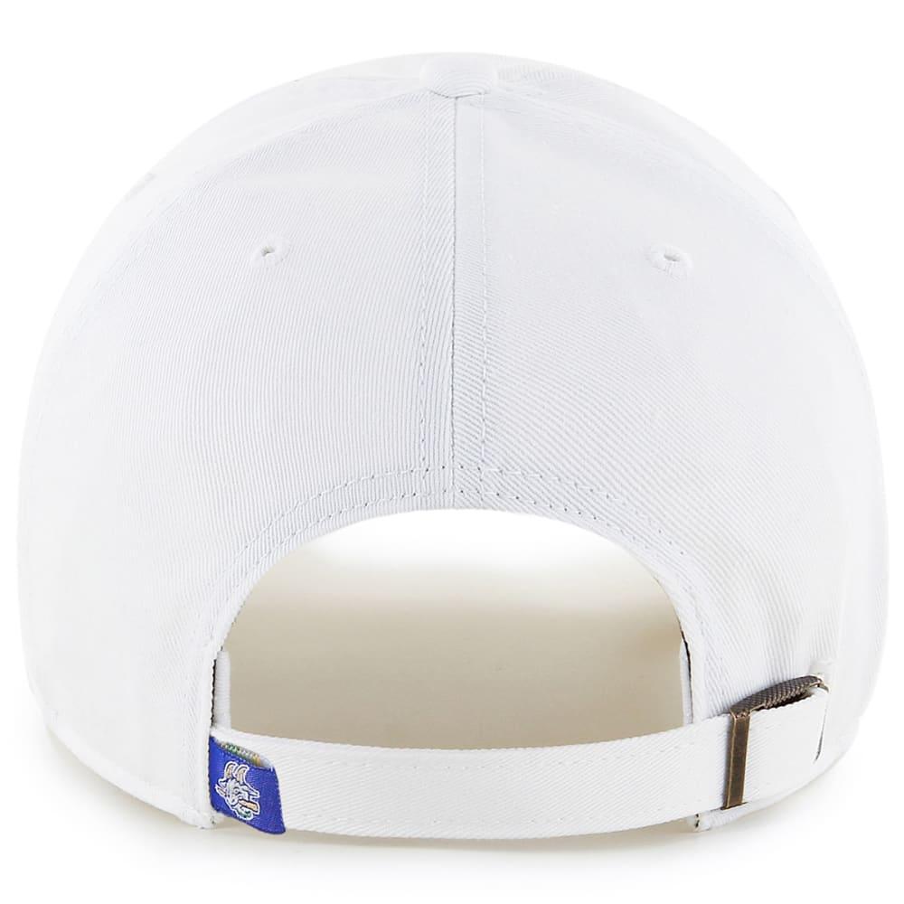 HARTFORD YARD GOATS Men's '47 Clean Up Adjustable Cap, White - WHITE
