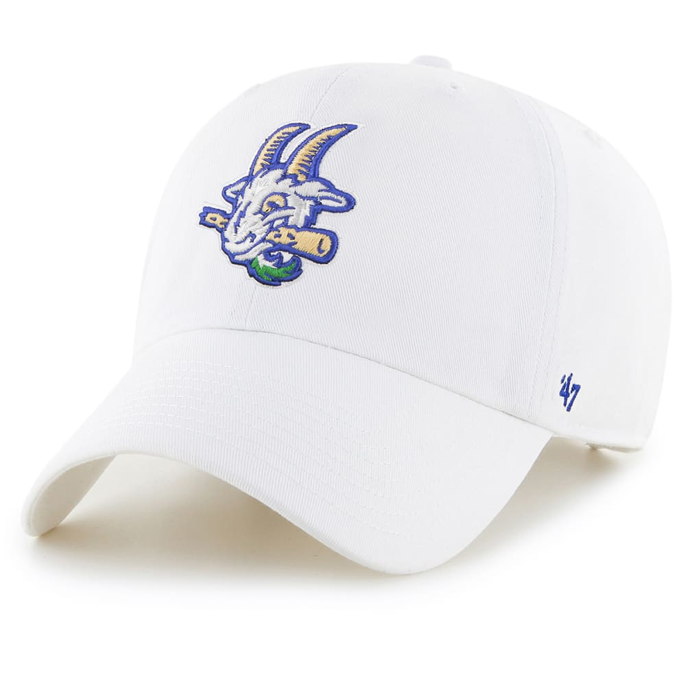 Hartford Yard Goats Men's 47 Clean Up Adjustable Cap, White