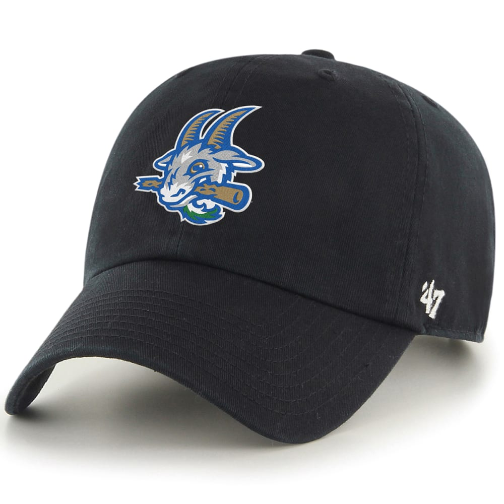 Hartford Yard Goats Men's 47 Clean Up Adjustable Cap, Black