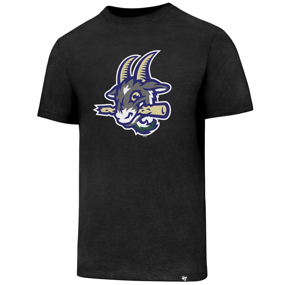HARTFORD YARD GOATS Men's Knockaround 47 Club Short-Sleeve Tee - BLACK