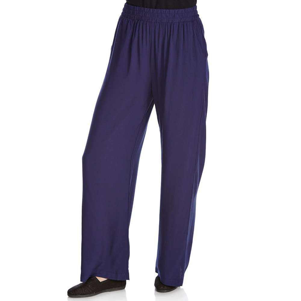 CRIMSON IN GRACE Women's Smock-Waist Pants - ECB-ECLIPSE BLUE