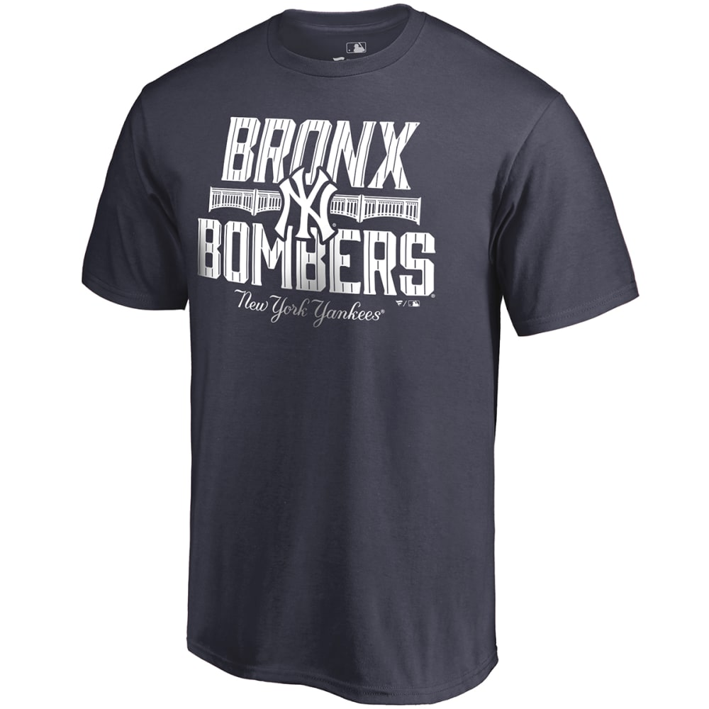 NEW YORK YANKEES Men's Bronx Bombers Short Sleeve Tee - NAVY