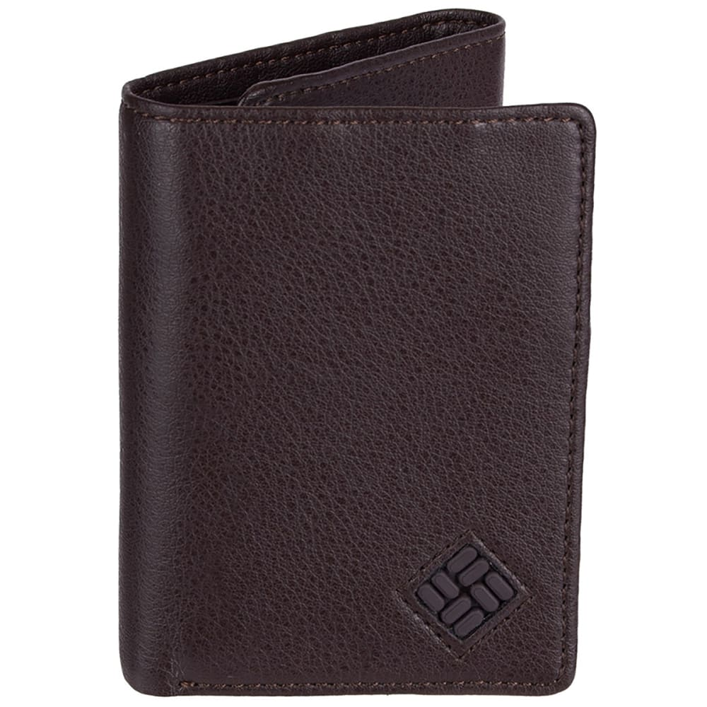 COLUMBIA Men's RFID Blocking Trifold Security Wallet ONESIZE