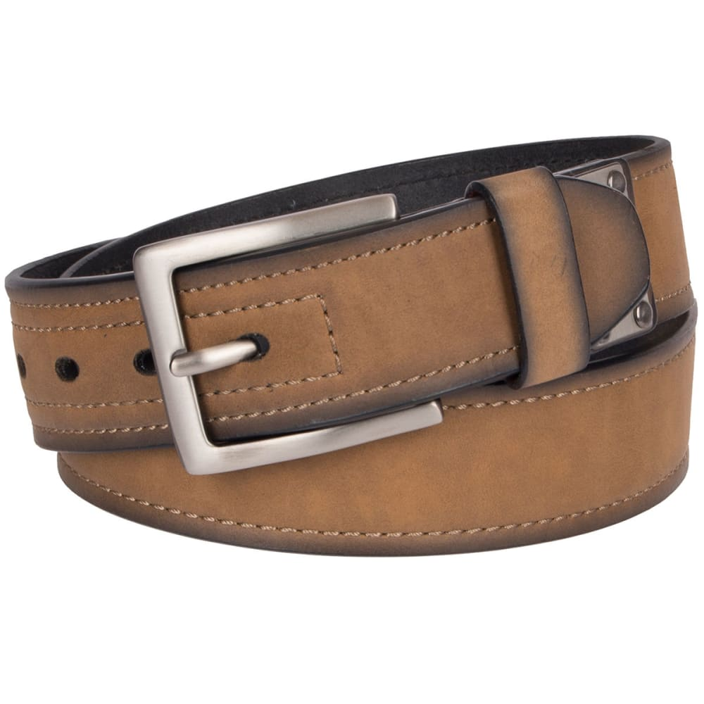 DICKIES Men's 38 MM Industrial Strength Belt - BROWN 200