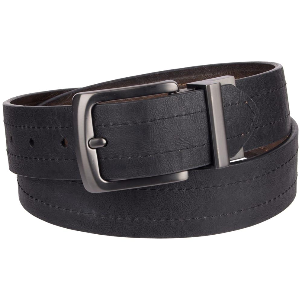 LEVI'S Men's 40 MM Reversible Belt - BROWN/BLK 206