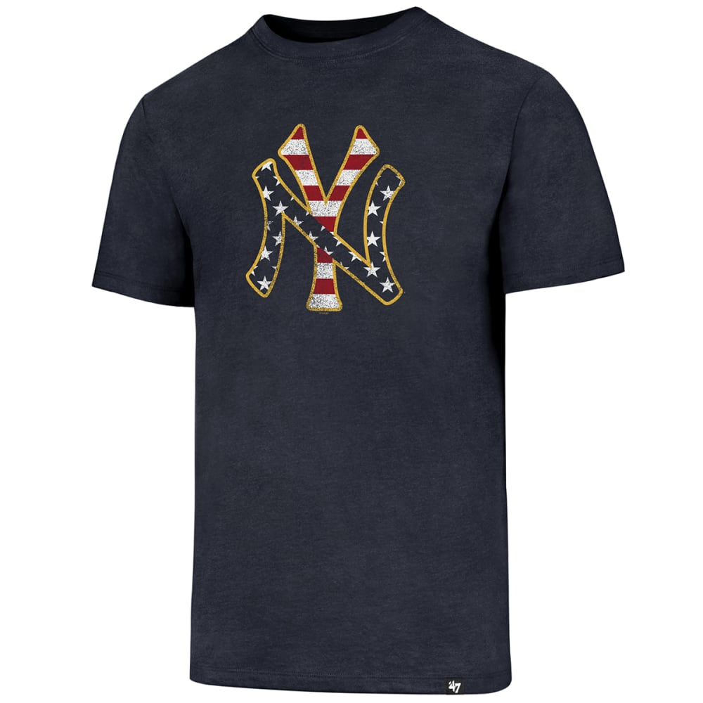 NEW YORK YANKEES Men's Americana Knockaround '47 Club Short-Sleeve Tee - NAVY