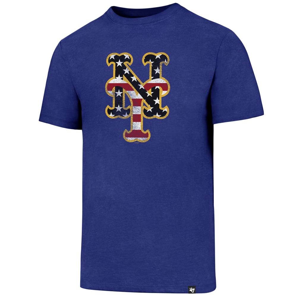NEW YORK METS Men's Americana Knockaround '47 Club Tee - ROYAL BLUE