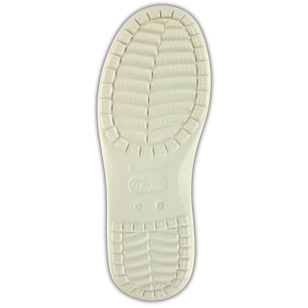 CROCS Men's Santa Cruz II Luxe Slub Slip-On Shoes - KHAKI