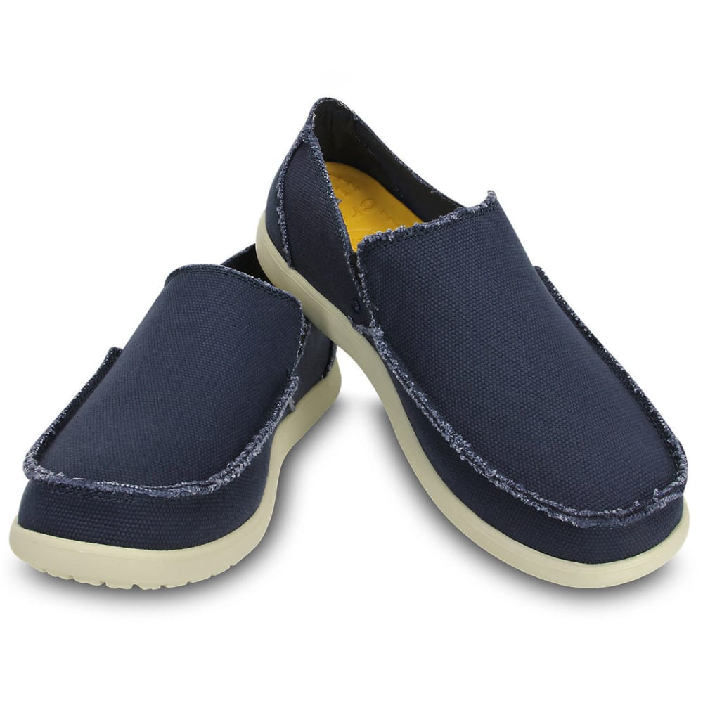CROCS Men's Santa Cruz Slip-On Shoes - NAVY