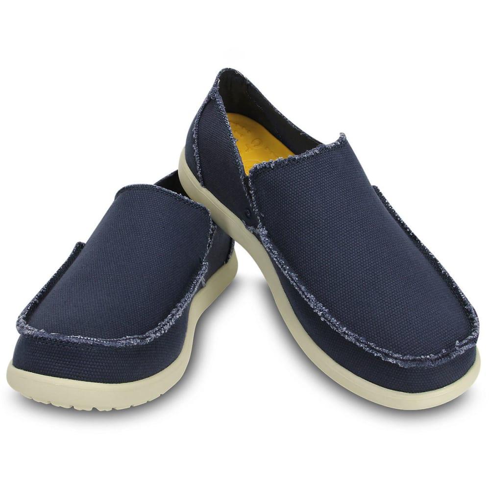 CROCS Men's Santa Cruz Slip-On Shoes - NAVY
