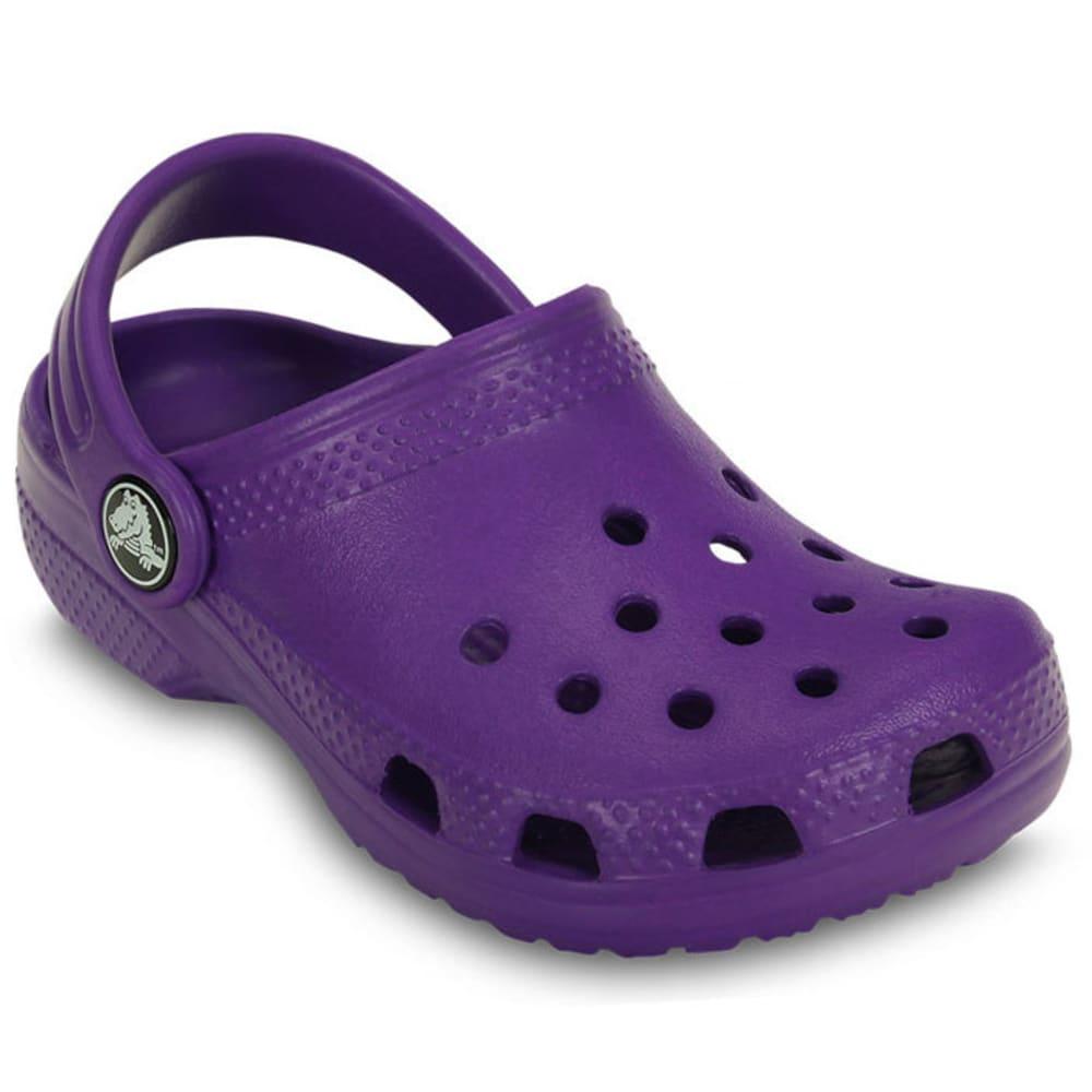 Crocs Girls Classic Clog - Purple, 1