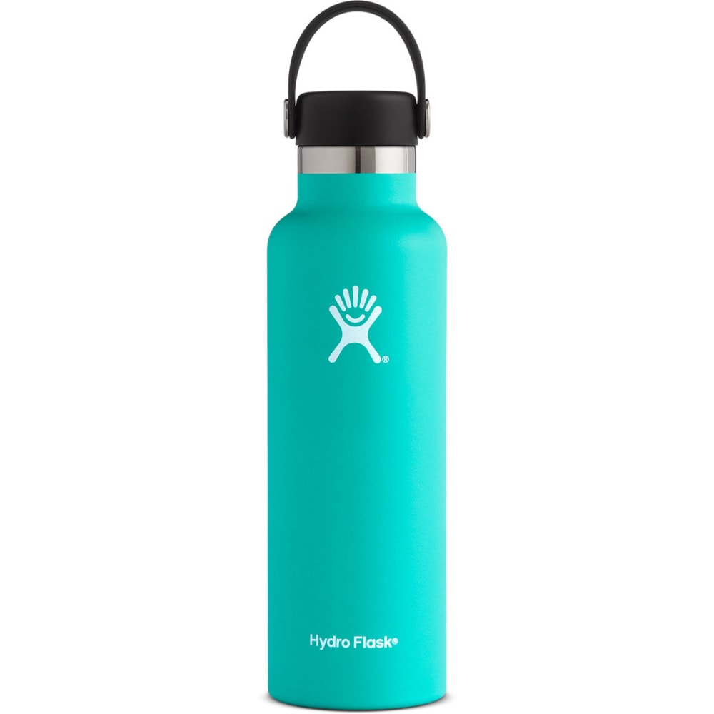 HYDRO FLASK 21 oz. Standard Mouth Water Bottle with Flex Cap - MINT S21SX435
