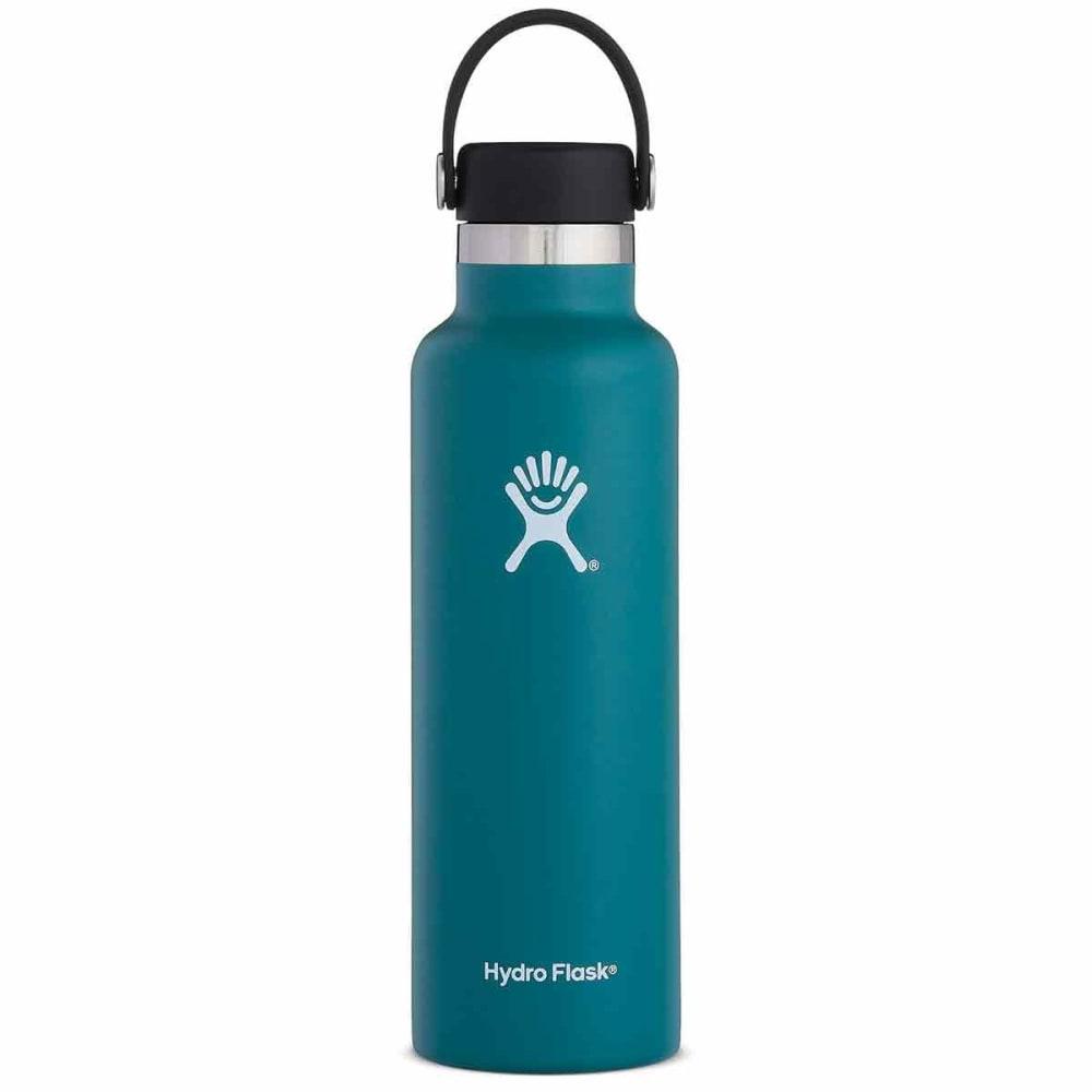 HYDRO FLASK 21 oz. Standard Mouth Water Bottle with Flex Cap - JADE