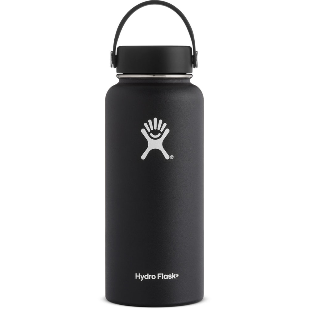 HYDRO FLASK 32 oz. Wide Mouth Water Bottle - BLACK W32TS001