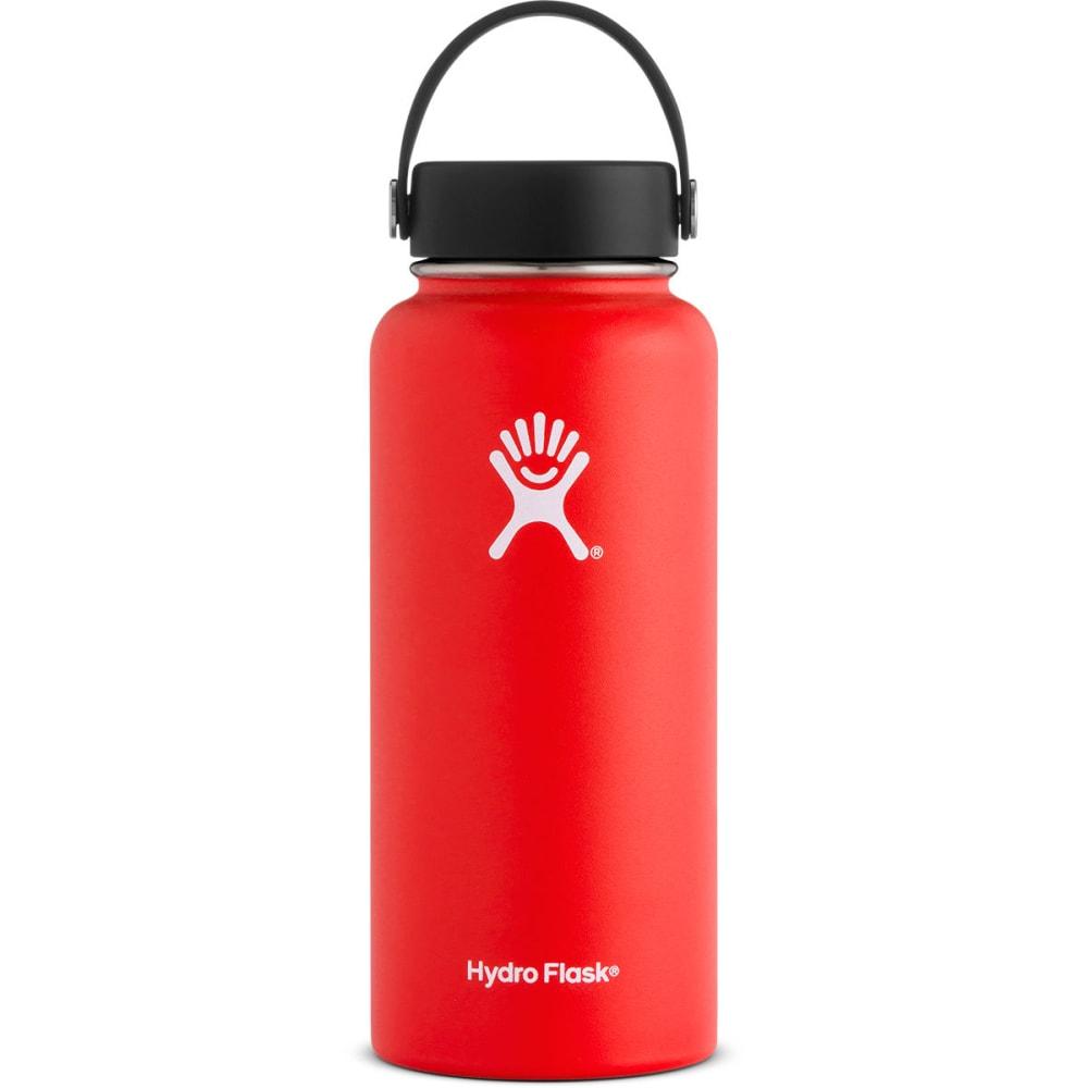 HYDRO FLASK 32 oz. Wide Mouth Water Bottle - LAVA W32TS611
