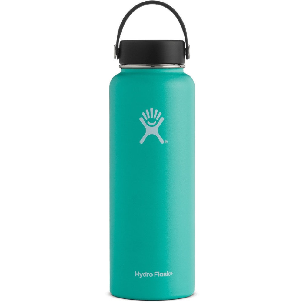 HYDRO FLASK 40 oz. Wide Mouth Water Bottle - MINT W40TS435