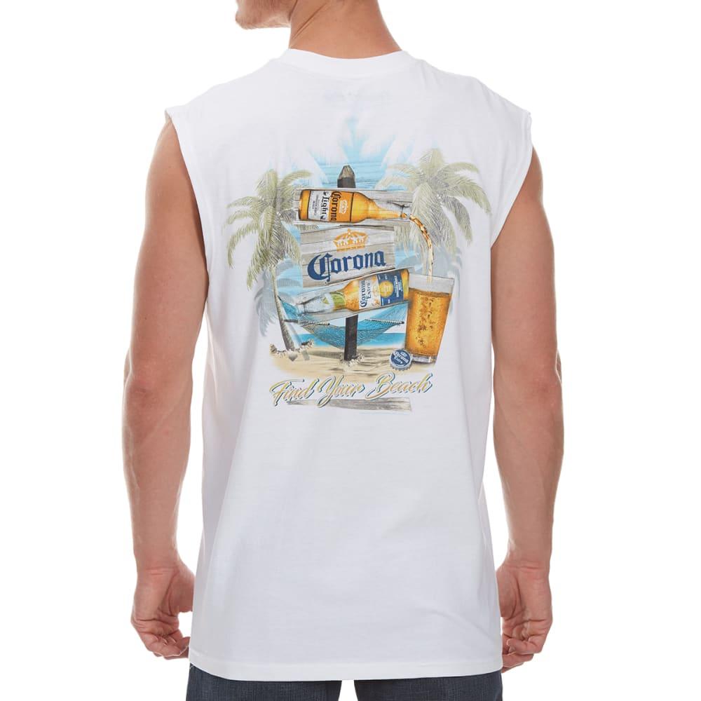 NEWPORT BLUE Men's Destination Corona Muscle Tank - WHITE - 120