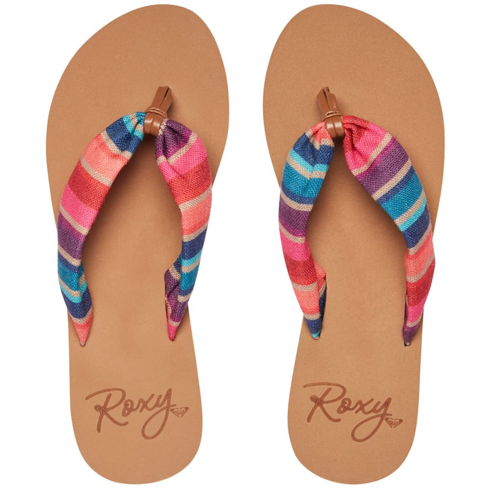ROXY Women's Paia Flip Flops - RED