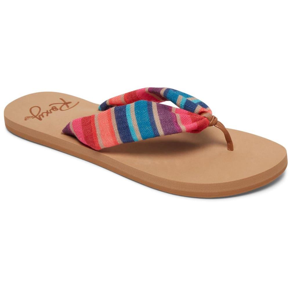 ROXY Women's Paia Flip Flops - RED
