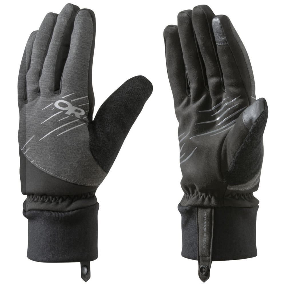 OUTDOOR RESEARCH Pacesetter Sensor Gloves, Black - BLACK