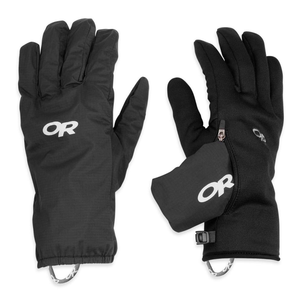 OUTDOOR RESEARCH Men's Versaliner Gloves, Black - BLACK