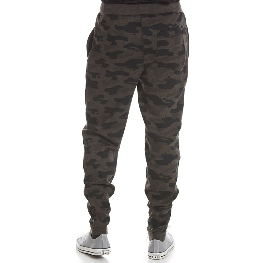 OCEAN CURRENT Guys' Workout Camo Jogger Pants - CHAR HTR